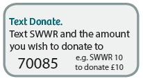 Text to donate to SWWR